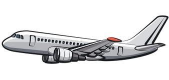 Avião do passageiro do voo Imagens de Stock Royalty Free