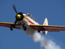 Avião do treinamento Foto de Stock Royalty Free