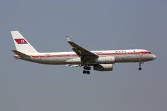 Avião do Tupolev Tu-204 de Air Koryo Imagem de Stock