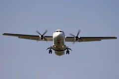 Avião do Turbo-prop Fotografia de Stock Royalty Free