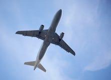 Avião do vôo fotografia de stock