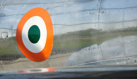 avião do vintage do detalhe Fotografia de Stock