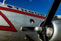 Avião em Berlin Tempelhof Imagens de Stock