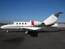Avião executivo do jato Foto de Stock Royalty Free