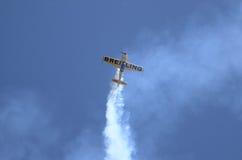 Avião 300 extra de Breitling Imagem de Stock Royalty Free