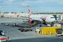 Avião grande de Air Canada Fotos de Stock Royalty Free
