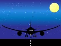 Avião ilustrado Foto de Stock Royalty Free