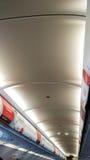 Avião interno foto de stock