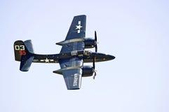 Avião militar do vintage Foto de Stock