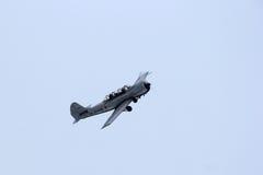 Avião militar histórico do exército soviético foto de stock royalty free