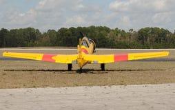 Avião militar velho fotografia de stock royalty free