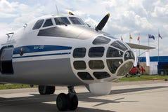 Avião AN-30 no salão de beleza aeroespacial internacional MAKS-2017 de MAKS Fotografia de Stock