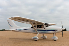 Avião pequeno foto de stock royalty free