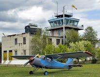 Avião pequeno Fotografia de Stock Royalty Free