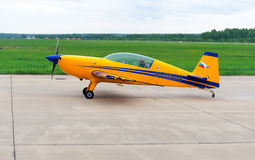 Avião pequeno em Kubinka Fotos de Stock Royalty Free