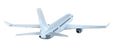 Avião que voa afastado Meus próprios projeto ilustração do vetor