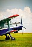 Avião retro do esporte Foto de Stock