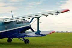 Avião retro do esporte Foto de Stock Royalty Free