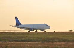 Avião Taxiing?. fotografia de stock