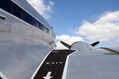 Avião velho da hélice Imagem de Stock Royalty Free