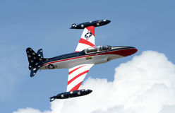 Avião velho do treinamento do jato Fotos de Stock Royalty Free