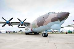 Avião verde das forças armadas da carga Foto de Stock
