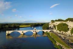 ` Aviñón, Francia de Pont D Imagen de archivo