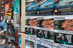 AVIÑÓN, PROVENCE, FRANCIA - 5 DE JULIO DE 2017: ` Aviñón del festival d Foto de archivo