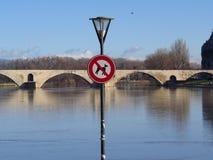 Aviñón, santo Benezet - puente, Francia de Pont Imágenes de archivo libres de regalías