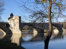 Aviñón, santo Benezet - puente, Francia de Pont Fotos de archivo libres de regalías