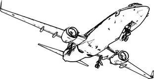 Avión Fotografía de archivo