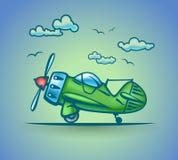 Avión abstracto, stylization, vector Fotos de archivo