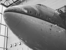 Avión aeroespacial del museo Fotografía de archivo
