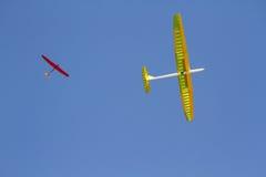 Avión altísimo teledirigido de RC Imágenes de archivo libres de regalías