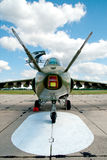 Avión-ataque moderno del jet Fotos de archivo