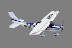 Avión controlado de radio ilustración del vector