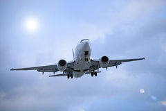 Avión de aire Imagen de archivo libre de regalías