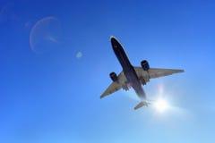 Avión de aire fotos de archivo libres de regalías