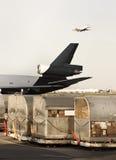 Avión de carga Fotografía de archivo libre de regalías