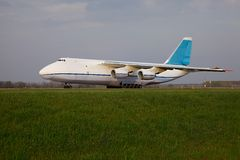Avión de carga Imagen de archivo libre de regalías