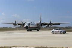 Avión de carga de la fuerza aérea Imagen de archivo