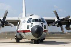 Avión de carga de la fuerza aérea Fotografía de archivo libre de regalías