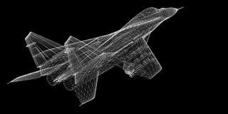 Avión de combate Fotos de archivo libres de regalías