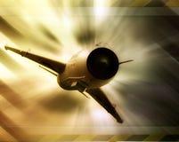 Avión de combate abstracto imágenes de archivo libres de regalías