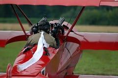 Avión de combate de la guerra Fotografía de archivo libre de regalías