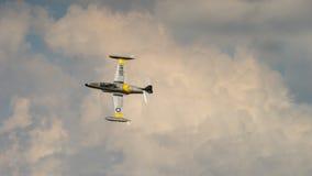 Avión de combate de la hada maligna de V2H Fotografía de archivo