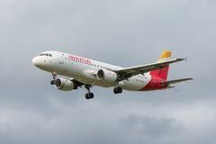 Avión de Iberia L.A.E. Fotografía de archivo