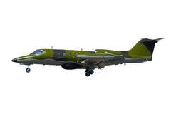 Avión de la guerra aislado en un fondo blanco fotografía de archivo libre de regalías