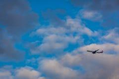Avión de la Virgen Imágenes de archivo libres de regalías