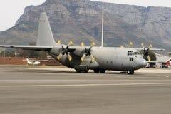 Avión de Lockheed C-130 Hércules Fotos de archivo